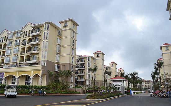 海南琼海天来泉老年疗养公寓2期大门.