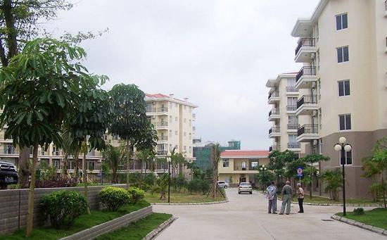 海南琼海天来泉老年疗养公寓2期内部花园.