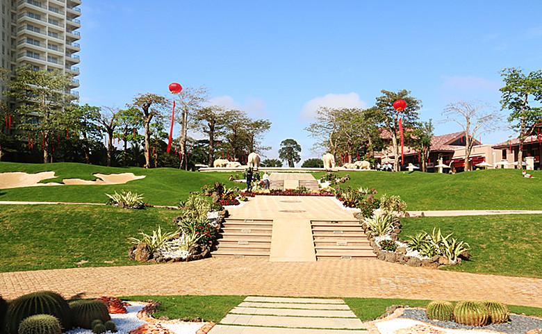 海南博鳌宝莲城养生度假基地
