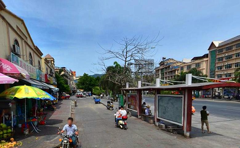 吉阳镇商业街
