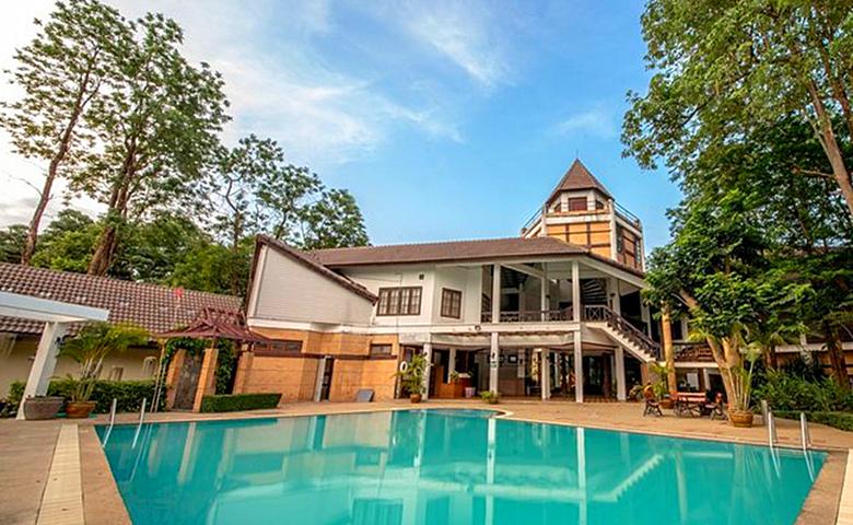 泰国国际养老度假中心泳池