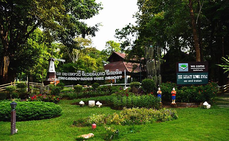 泰国国际养老度假中心大堂